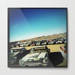 Car Lot, Kingman AZ Metal Print