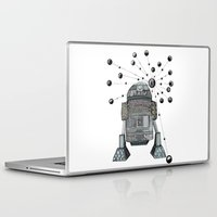r2d2 Laptop & iPad Skins featuring R2D2 by Svenningsenmoller Design