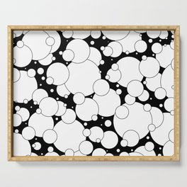 Black and White Pop 2 Serving Tray