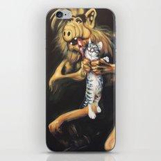 Alf Devouring His Cat iPhone Skin