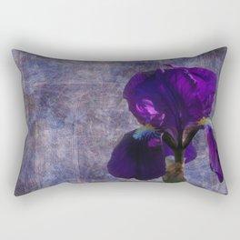 Captivating Iris Rectangular Pillow