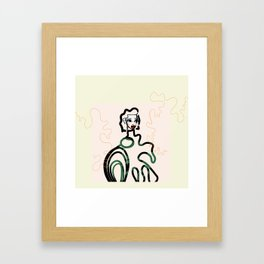 Dani Framed Art Print