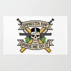 Gangsta Rap Made Me Do It Rug
