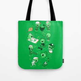 Lawn of the dead Tote Bag