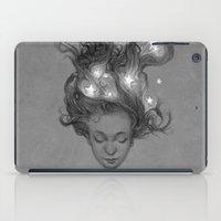 constellations iPad Cases featuring Constellations by Antonio Caparo
