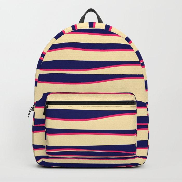 Funky Zebra Backpack