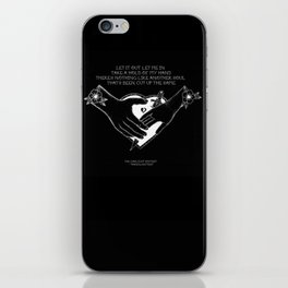 "The Gaslight Anthem - ""Handwritten"" iPhone Skin"