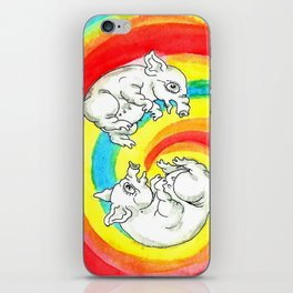 Lolly Pigs iPhone Skin