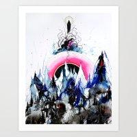'Micro Cosmos' Art Print