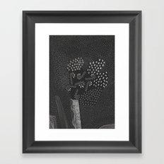 6 elements Framed Art Print