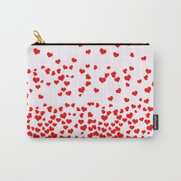Falling Hearts Carry-All Pouch