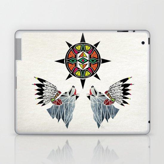 wolf king Laptop & iPad Skin