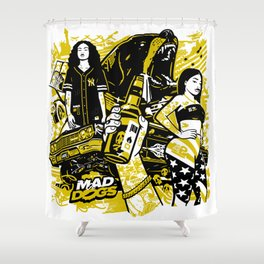 MADDOGS Shower Curtain