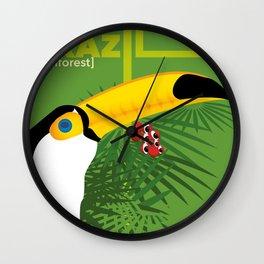 Brazil [rainforest] Wall Clock