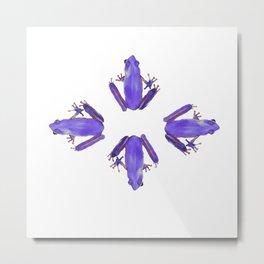 Purple Haze of Frogs Metal Print