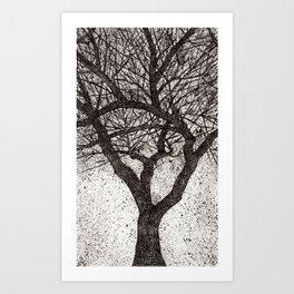 Magic three Art Print