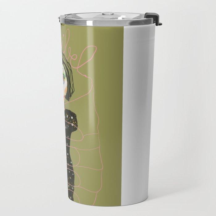flexible girl Travel Mug