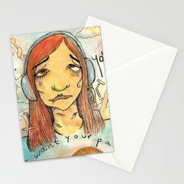 Symptoms Stationery Cards