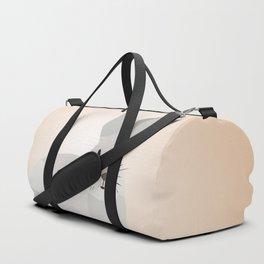 Cute Rabbit Low Poly Art Duffle Bag
