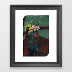 Inquisitor Adaar Framed Art Print