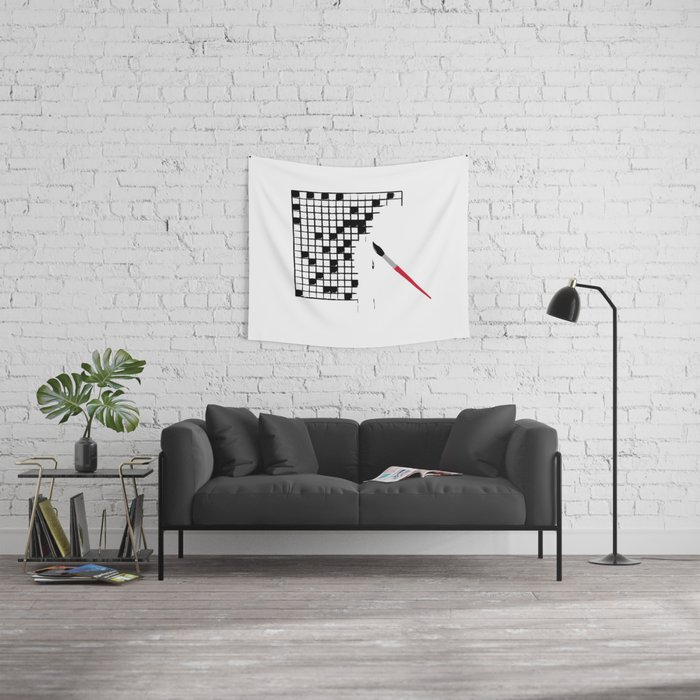 Crossword Wall Tapestry