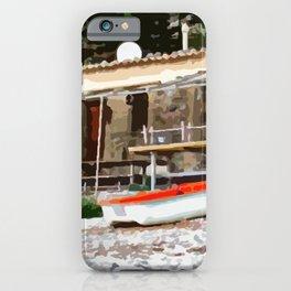Fishermen's hut in Mallorca iPhone Case