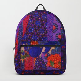 Garlands of Red Poppy & the Procession of Princess by Vittorio Zecchin Backpack