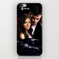 pretty little liars iPhone & iPod Skins featuring Pretty Little Liars by Erwan Khatib