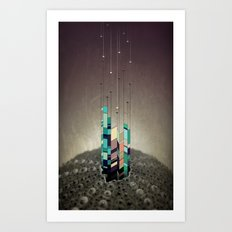Antennas Art Print