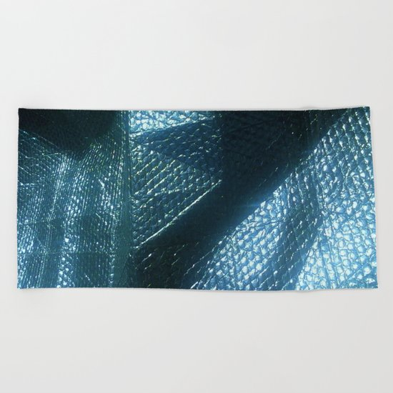 ABSTRACT SHAPES Beach Towel