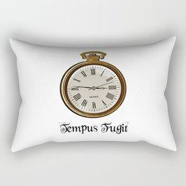 Tempus Fugit Rectangular Pillow