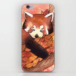 Cute Red Panda iPhone Skin