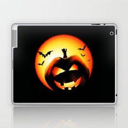 Smile Of Scary Pumpkin Laptop & iPad Skin