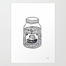 Brain Juice Art Print