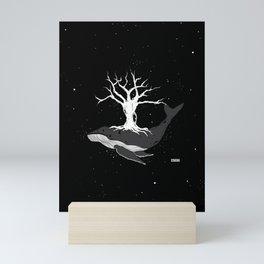 deep roots Mini Art Print