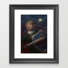 Link -- The Adventurer Framed Art Print