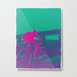Bike to work 1 of 3 Metal Print