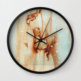 Two-Face Wall Clock