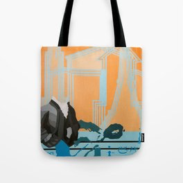 Music to My Head Tote Bag