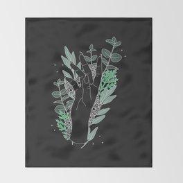Balance - Illustration Throw Blanket