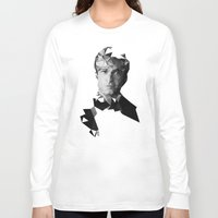 brad pitt Long Sleeve T-shirts featuring BRAD by THE USUAL DESIGNERS