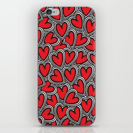 Love, love, love iPhone Skin