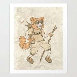 Young Explorer Art Print