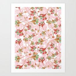 Floral Field Art Print