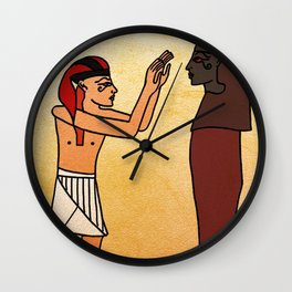 Cicero, Tending to Mummy Wall Clock