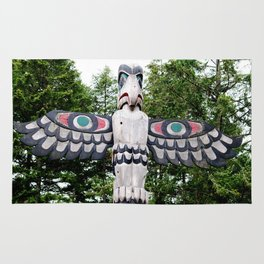 Alaskan Totem - Eagle Rug