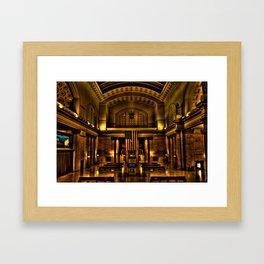 Union Station Framed Art Print