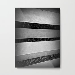 Steel Bars Metal Print