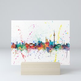 Berlin Germany Skyline Mini Art Print