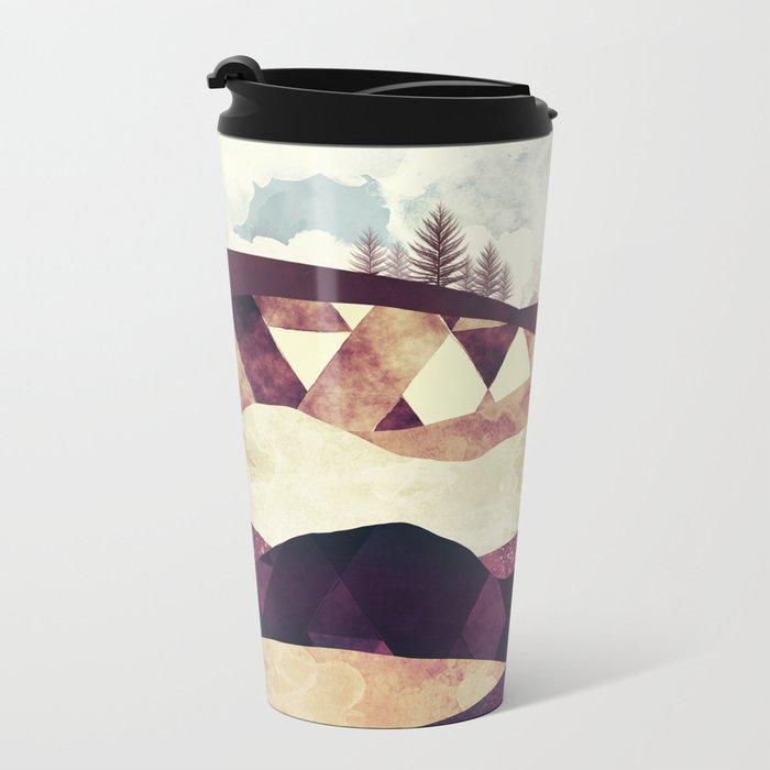 Plum Fields Metal Travel Mug